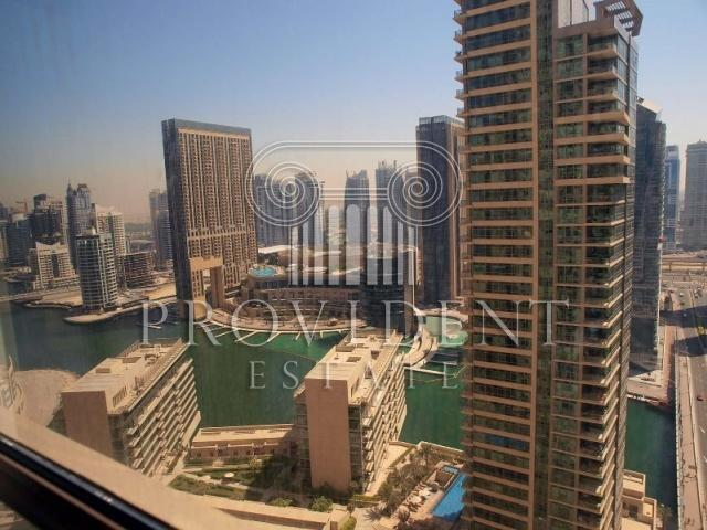 Vacant, Furnished 2BR Apt with Marina View