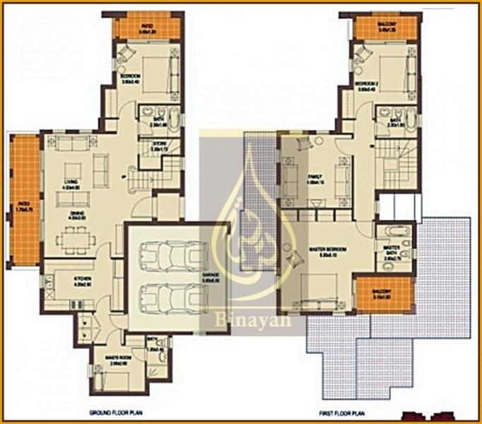 Type A, 4 Bedroom Villa at Palmera 3 Ranches