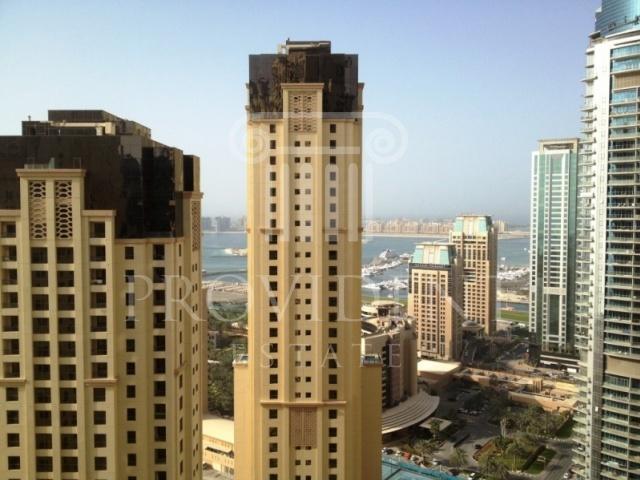 2 BR Apt with Marina and Sea Views