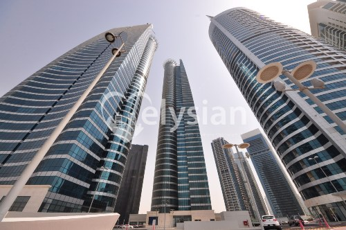 Nice 2br apartment + maid room X1 Tower
