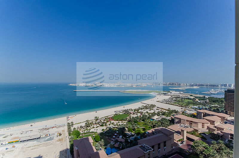 SADAF 5, 2BR En-Suite with Panoramic Sea View