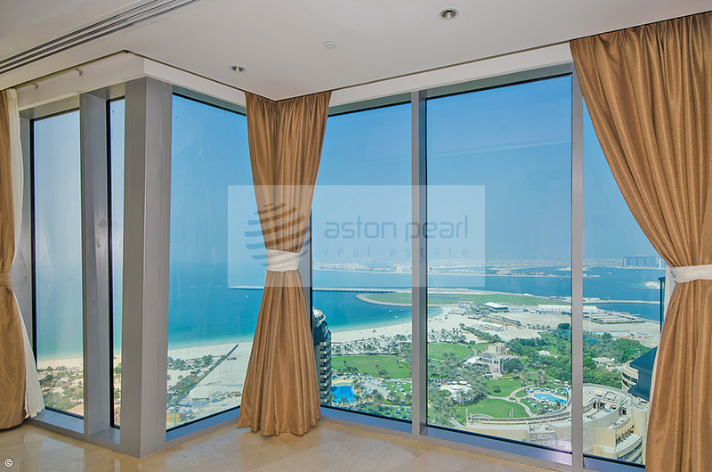 TGR - 3 BR+Maid's, Panoramic Sea view