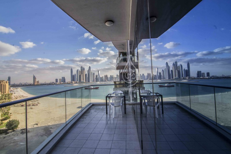 2 Bedroom in Oceana, low floor,Palm Jumeirah