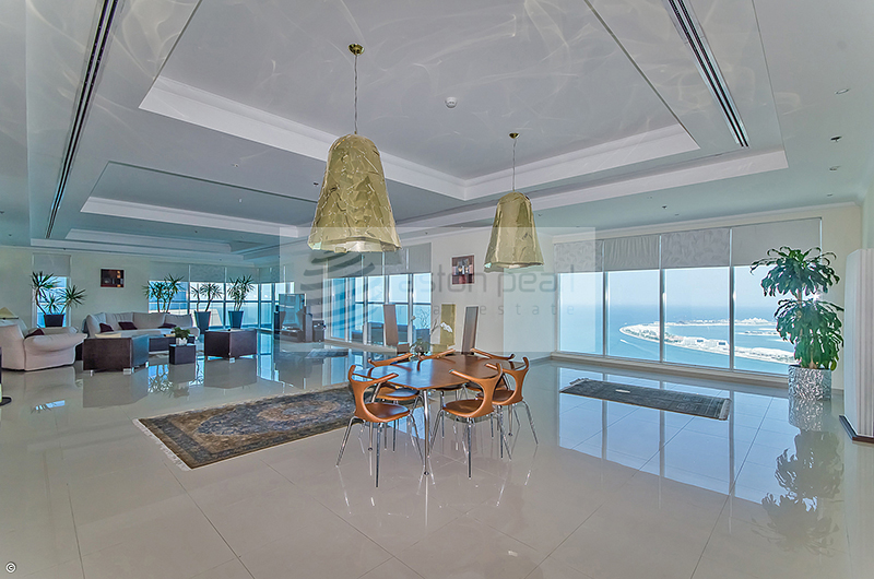 Amazing 5 BR Penthouse, Full Sea view