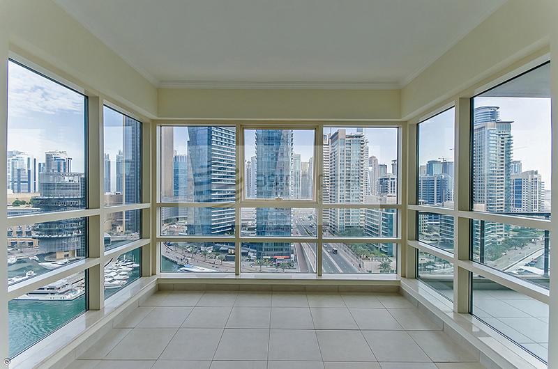 Full Marina View   2 Bedrooms   Balcony