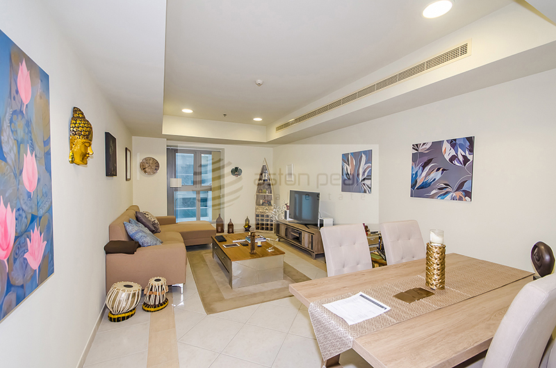 Vacant - Ready 1 Bed Apt with Partial Sea View