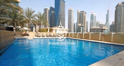 Vacant 2 Bedroom in Al Sahab 2 Dubai Marina