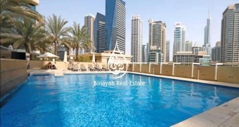 Vacant 2 Bedroom in Al Sahab 2 Dubai Marina