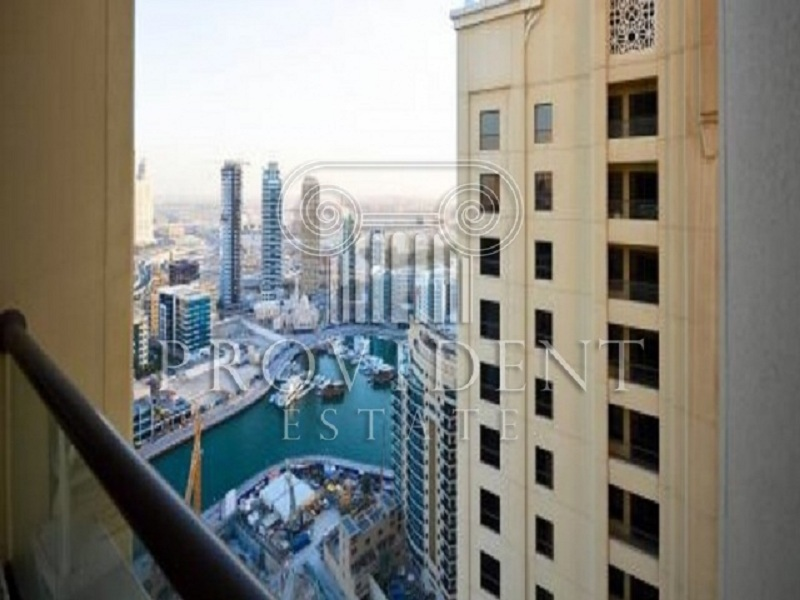 2BR with Partial Marina View,on High Floor