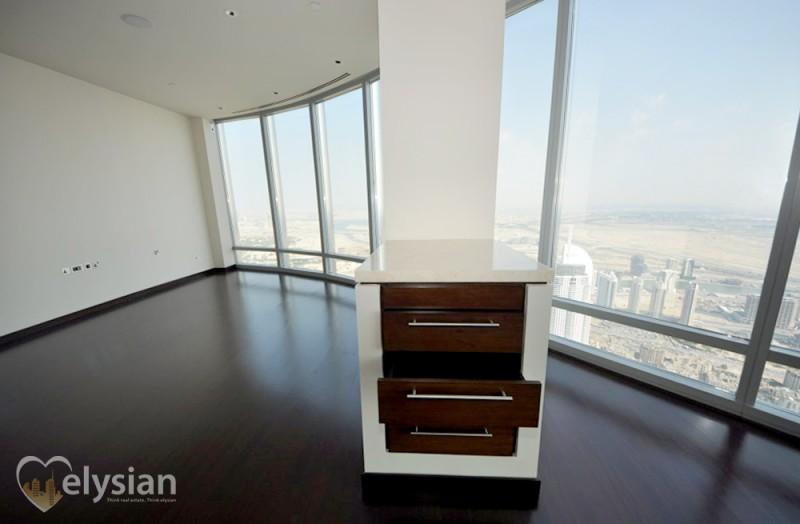 Immaculate 3BR+M, Sea View, Burj Khalifa