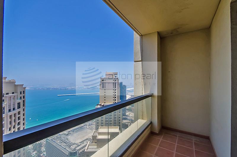Panoramic Sea View | 2BR in RIMAL, JBR
