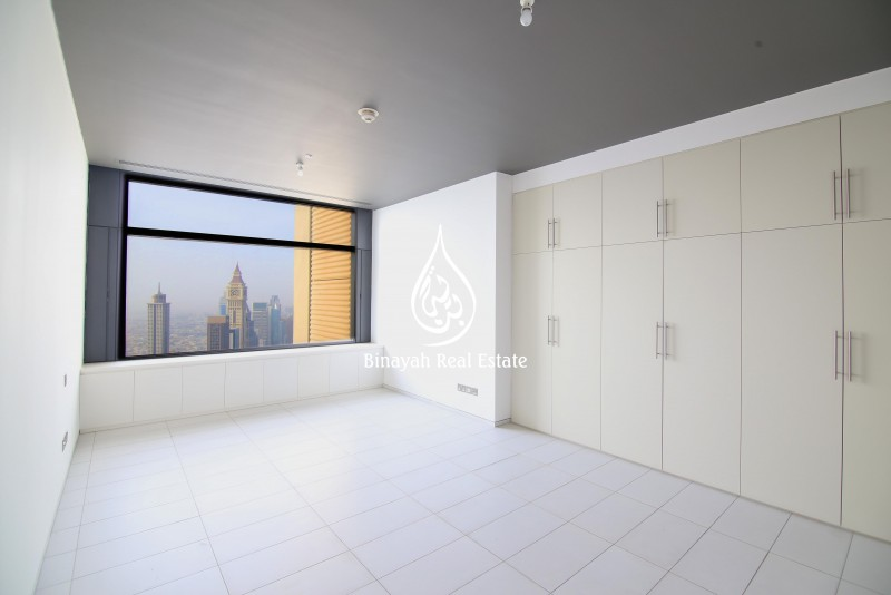 2 BR | SZR View | Vacant | for AED 170 K