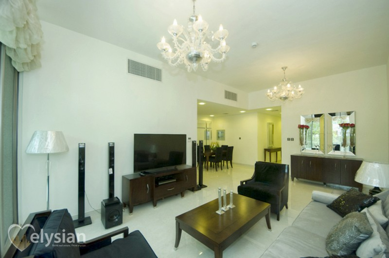 Best Furnished 2BR with Burj Khalifa View