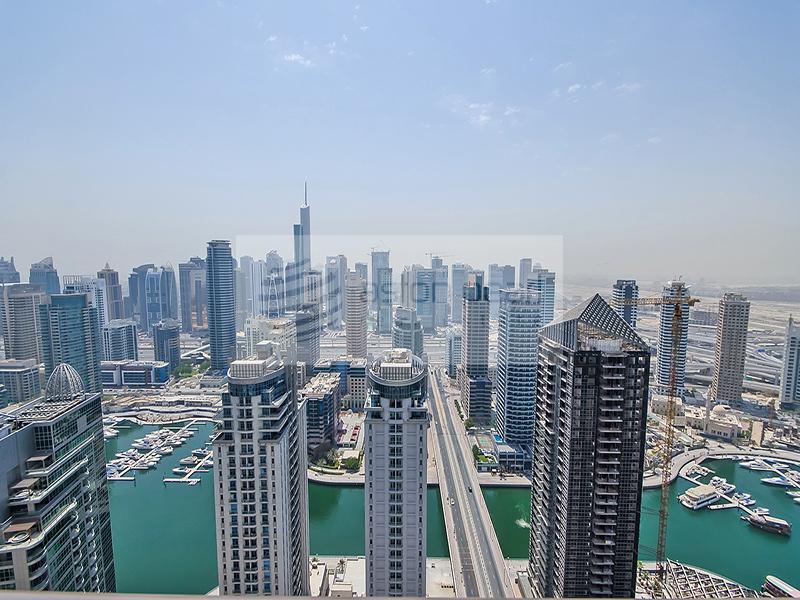 Panoramic Marina View, 2BR on High Floor