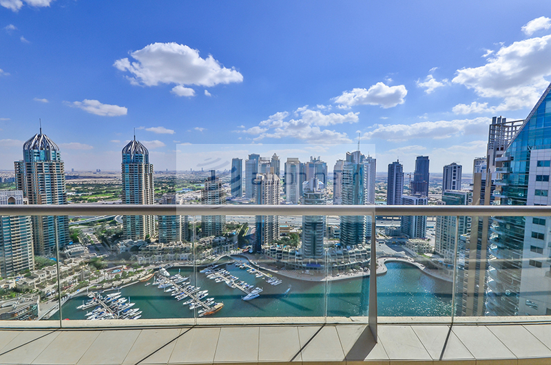 2 BR , 2 Parking  with Full Marina View