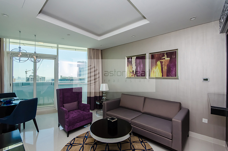 Fully Furnished 1BR | Luxury Service Suite