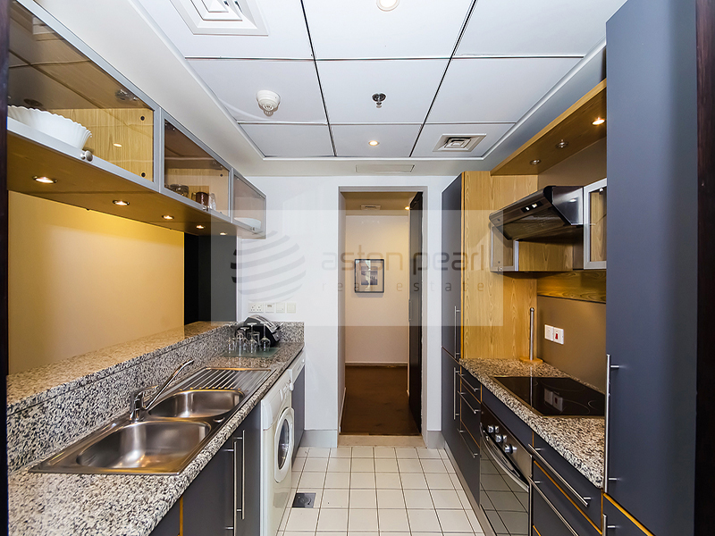Exclusive | 1 Bedroom with Fitted Kitchen