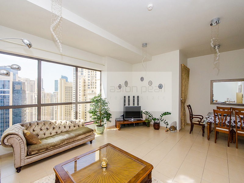Vacant 2 BR | Direct Marina and Sea View