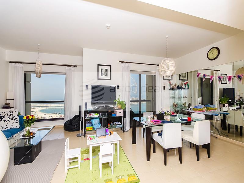 3BR+M | Front Line Sea / Dubai Eye Views