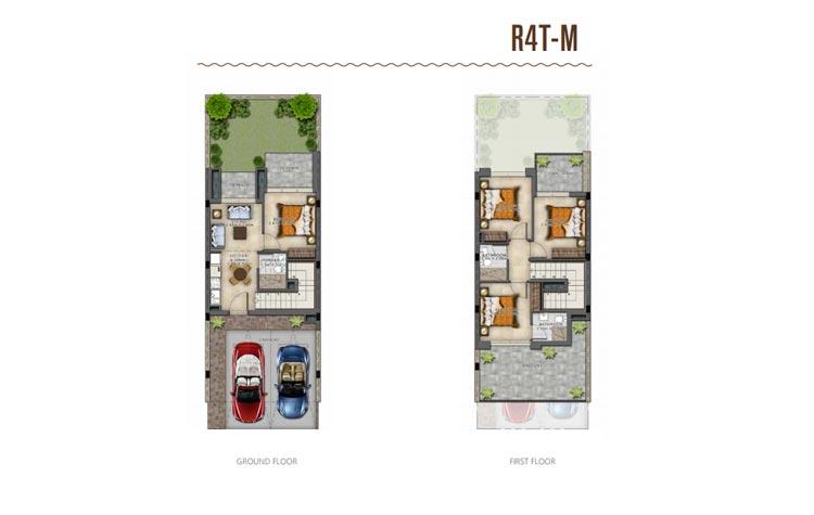 Akoya Damac 3 Bedrooms Villa  AED 999,999