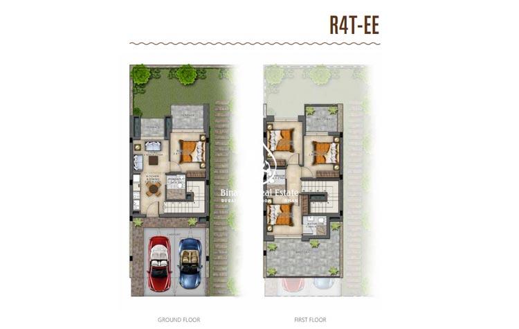 Sahara Villas Akoya 3 Bed AED 999,999/-