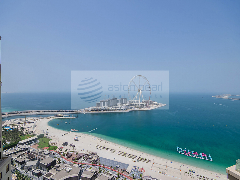Dubai Eye View Loft Apartment in Rimal, JBR