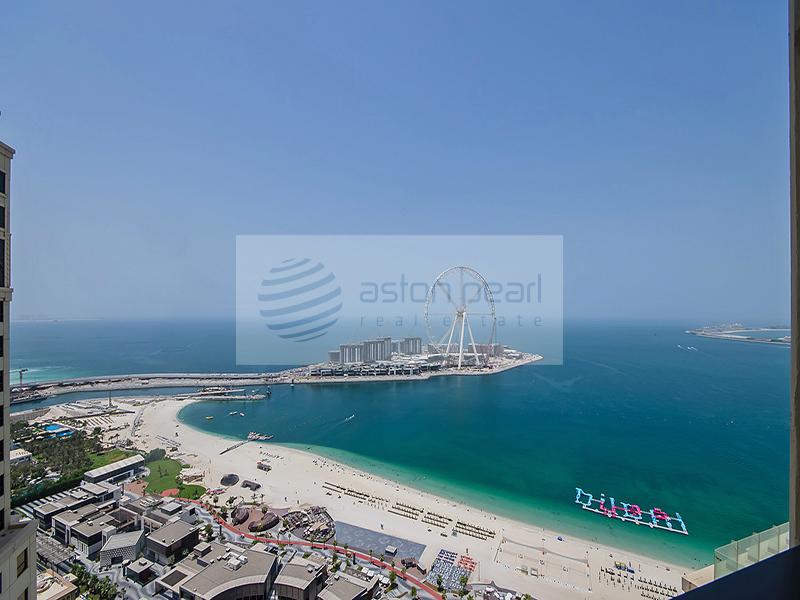 Dubai Eye View | Loft Apartment | Rimal 5, JBR