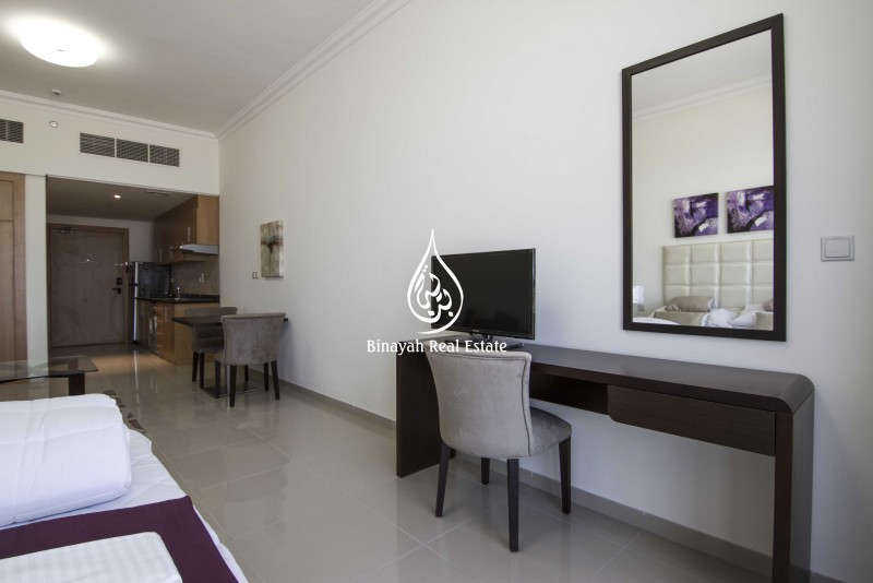 Studio |Tower 1 | Garden View |Furnished
