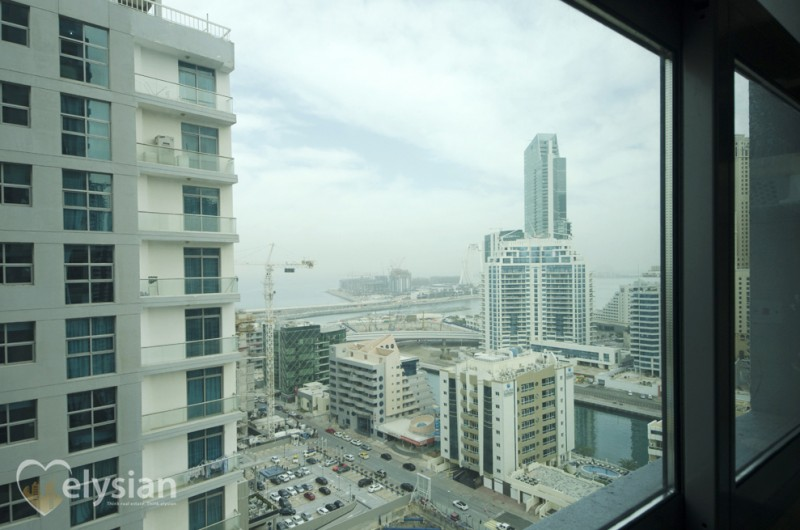 Full Marina View,Large 2 BR| DEC Towers 2