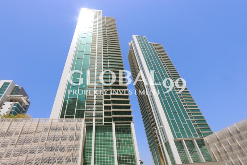 High-floor 2+S in Ocean Terrace for 3 chqs.