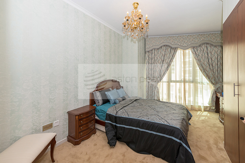 Upgraded/Fully Furnished | Full Fountain Views