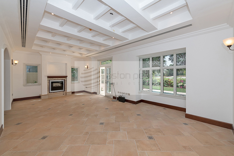 Full Unobstructed Golf Course View 5BR+M