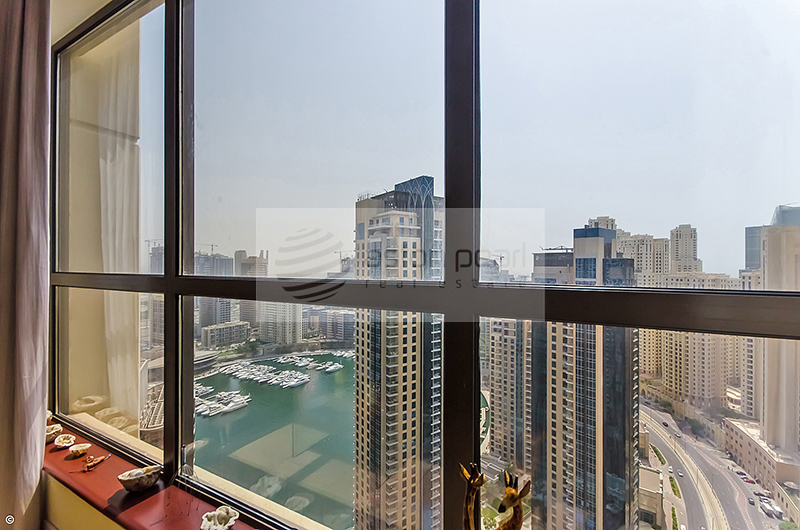 Full Marina view 2 BR for Rent Rimal 1