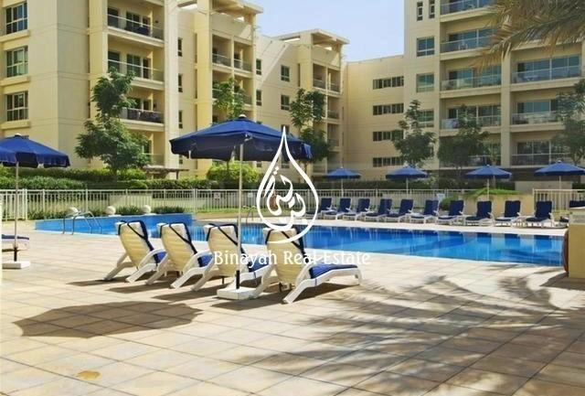 Fully Furnished 2 BR + Study  Pool View