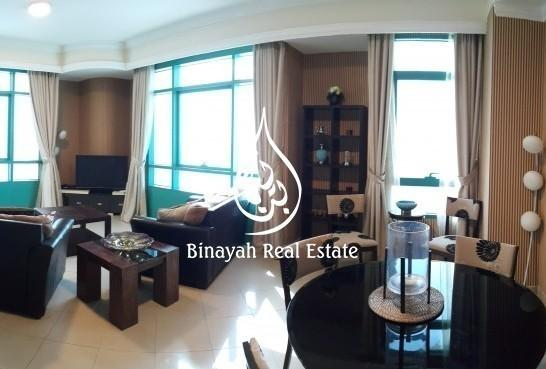 Furnished 1 BR Chiller Free Full Sea View