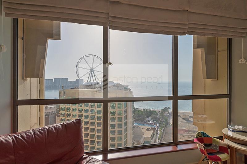 Beautifully Spacious 2BR Sea View, BAHAR