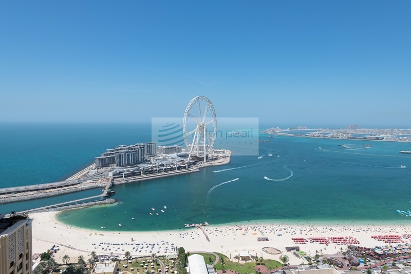 Renovated 2BR Panoramic Sea and Ain Dubai