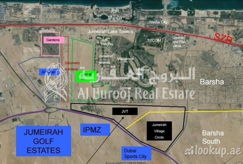 Jumeirah Village Triangle Mixed Use Plot   4 Years Payment Plan