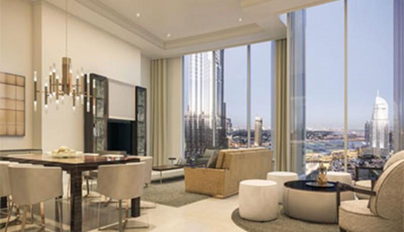 Modern 2Bed Higher Floor Boulevard view