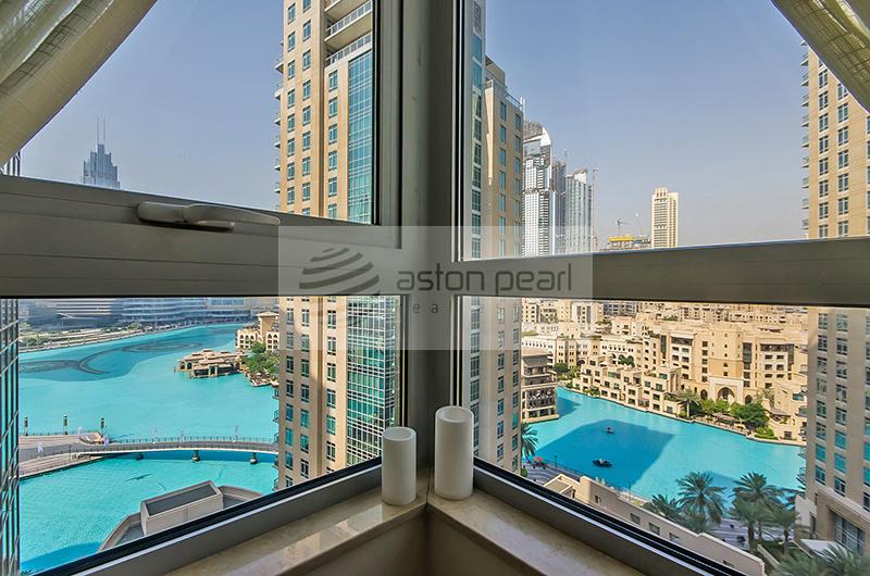 1Br + Study, Full Fountain and Burj Views