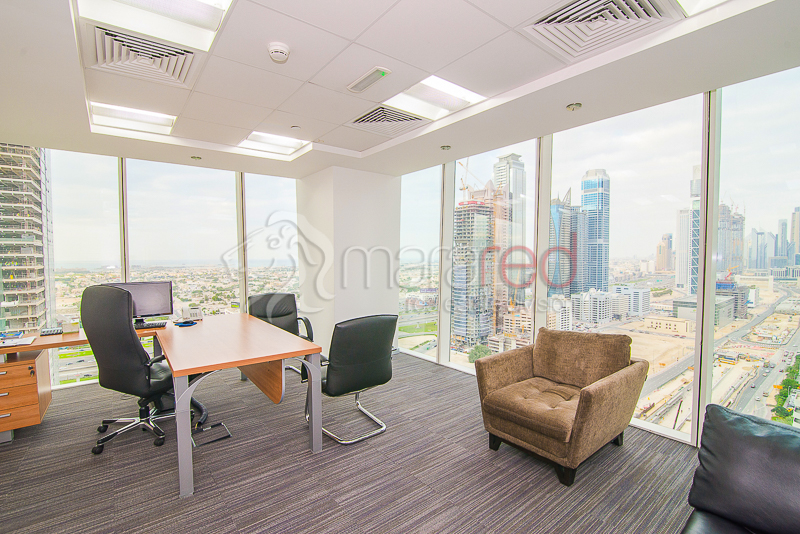 Fitted Office|High Floor|One Business Bay