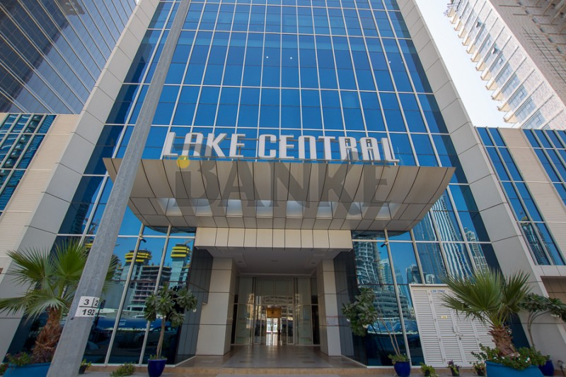 Fitted office | Lake Central | Canal and Burj view