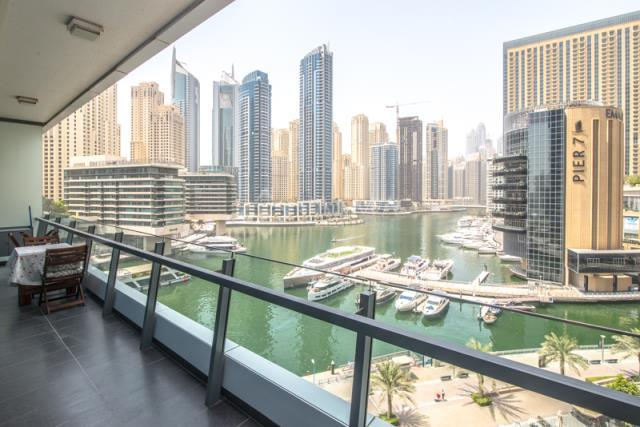 Exclusive 2 Bedroom with Full Marina View