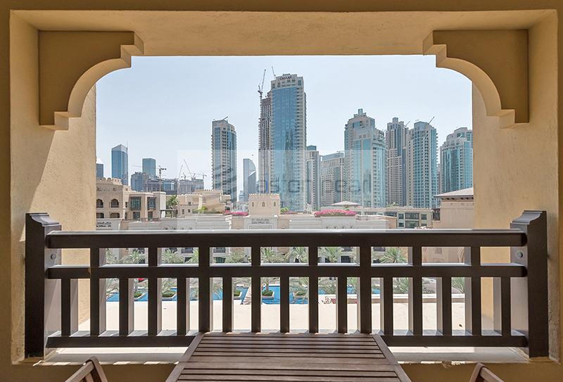 2BR | Huge Balcony | Burj and Fountain Views