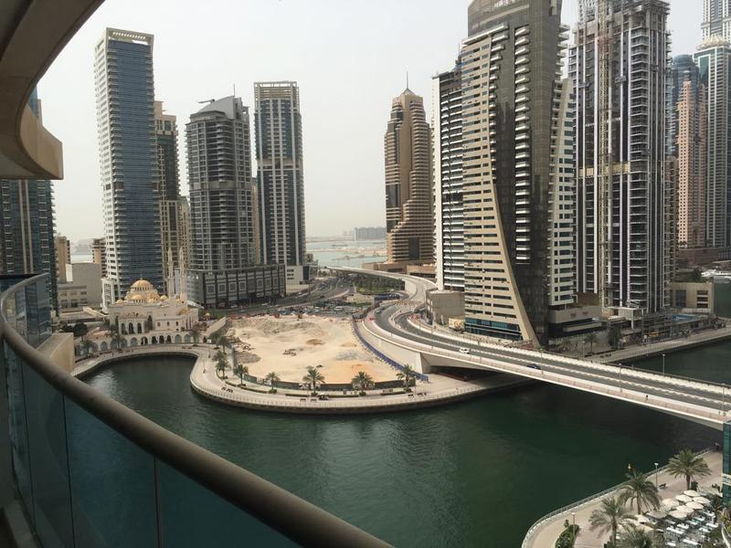 Time Place Tower: High floor 1BR 68K Close to Metro Dubai Marina