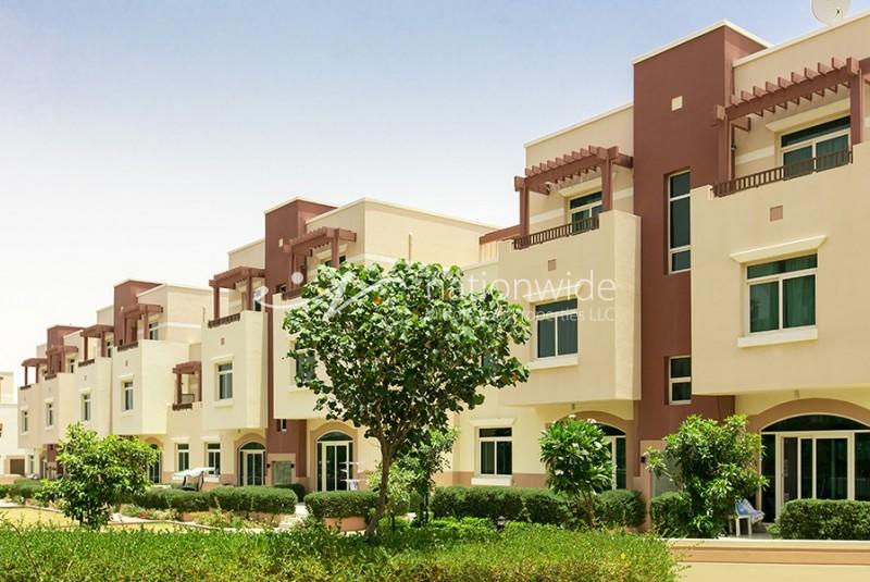 4 Payments! 1 BR Terraced Apt in Ghadeer