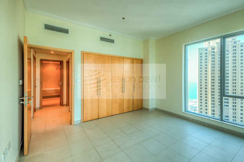 Well Maintained 3BR+M | Full Marina View