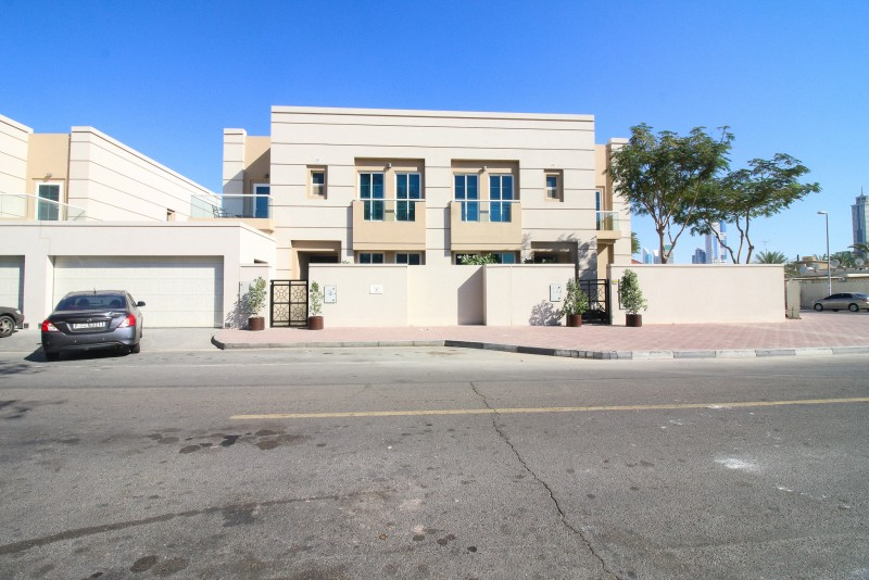 Corner Villa with Private Pool at Al Badaa