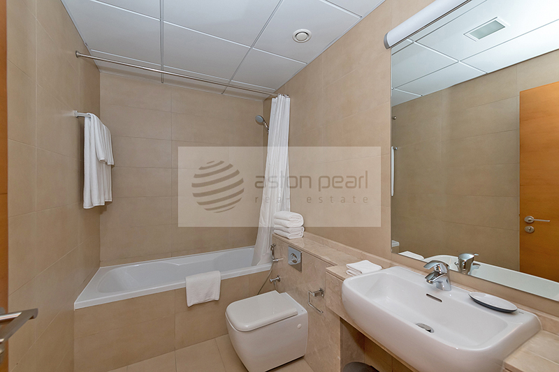 Furnished Studio with Kitchen Appliances