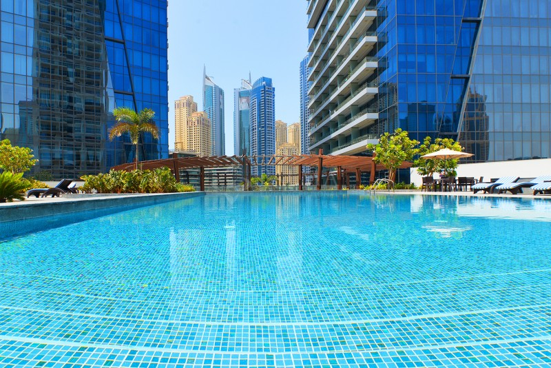 Location is everything   Silverene Towers  Dubai Marina